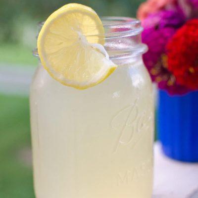 Real Homemade Lemonade Recipe