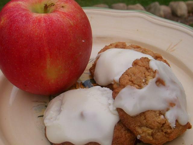 Glazed Apple Cookies | Reformation Acres