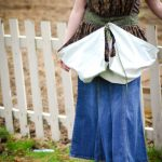 Harvest Gathering Apron Tutorial