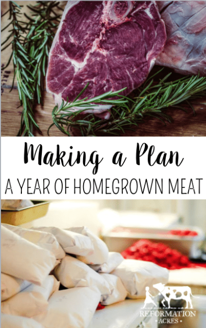 Making a Plan for a Year of Homegrown Meat