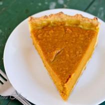 Butternut Squash Pie |www.reformationacres.com