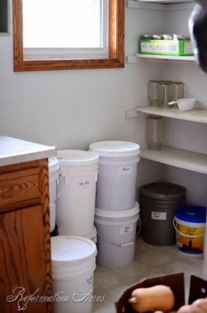 Homestead Food Storage