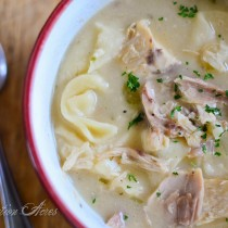Southern Style Chicken and Dumplings |www.reformationacres.com