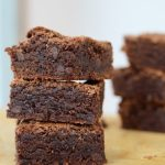 ~Whole Grain Double Fudge Brownies~