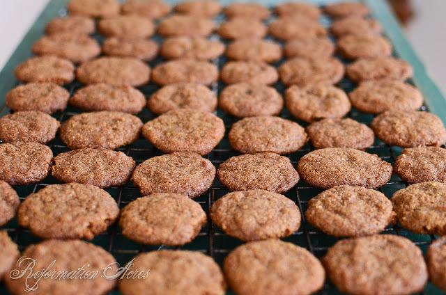 Whole Grain Sugar and Spice Drop Cookies | onjustacoupleacres.blogspot.com