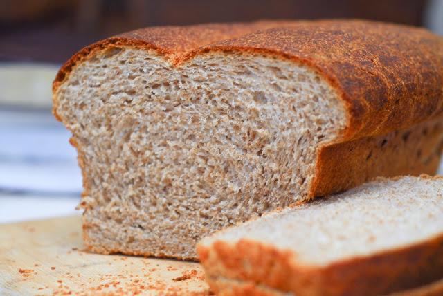 Whole Wheat Sourdough Sandwich Bread Recipe