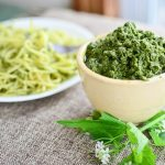 Garlic Mustard Pesto Recipe