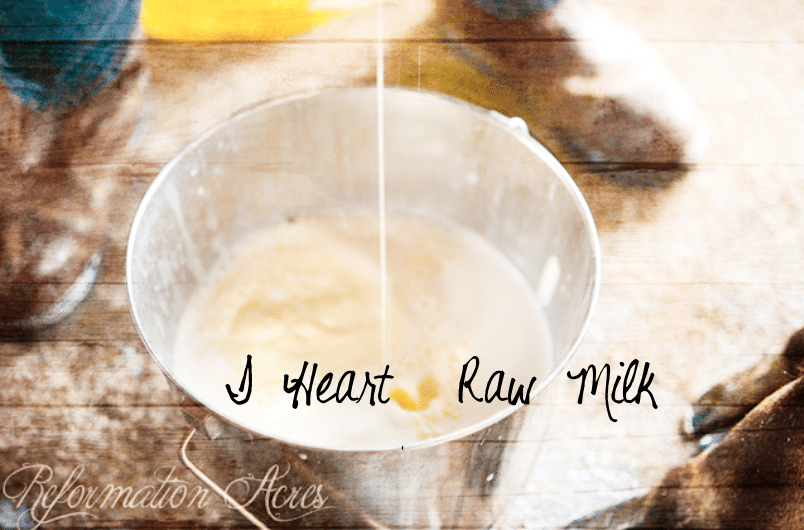 I Heart Raw Milk