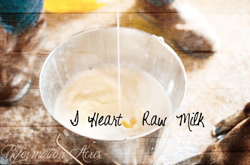 I Heart Raw Milk