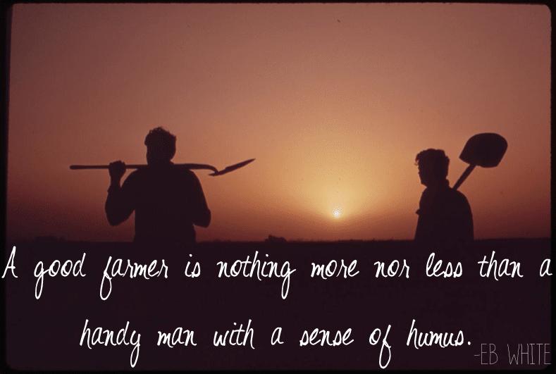 A Sense of Humus