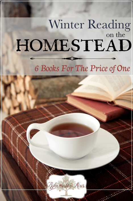 Winter Reading on the Homestead (December)