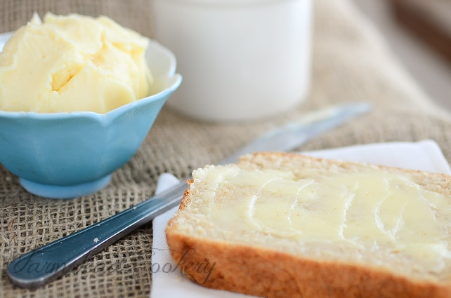 How to Make Your Own Sweet Cream Butter