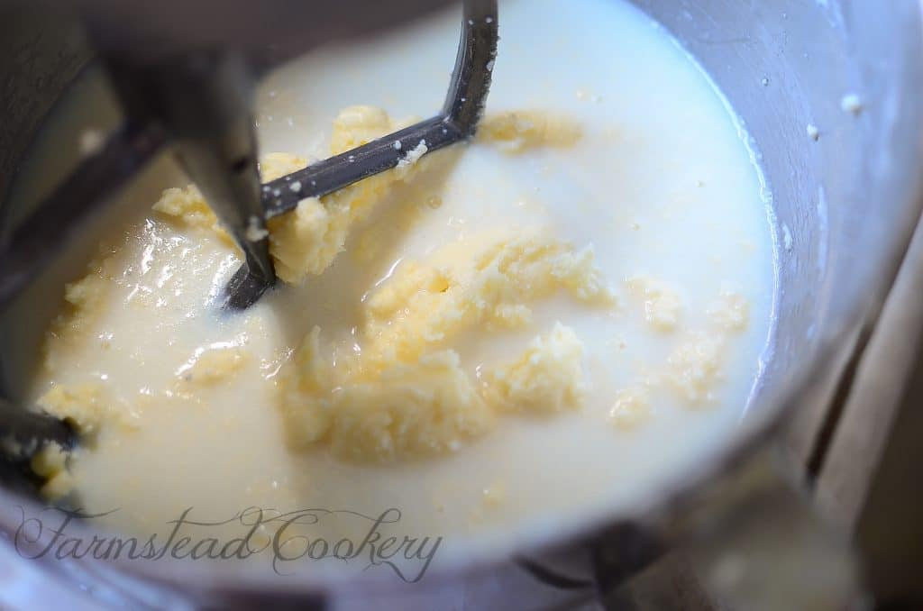 How to make homemade butter in a mixer
