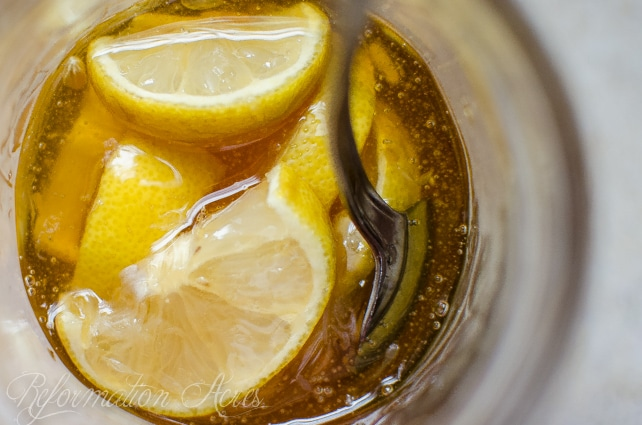 Homemade Medicine Made Simple: Sweet Lemon Honey & Thyme Cough Syrup Recipe