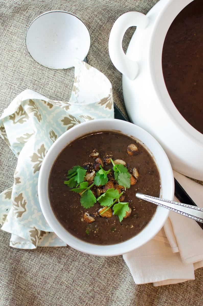 Black Bean Soup-5
