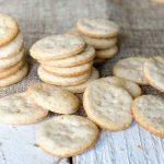 Buttery Sourdough Crackers Recipe