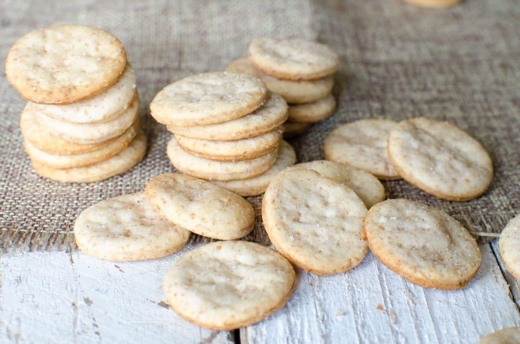 Buttery Sourdough Crackers Recipe