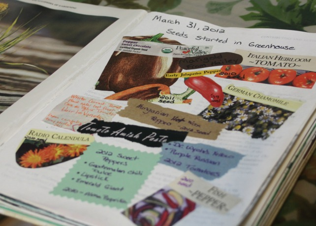 Expressing Creativity {Garden Journaling}