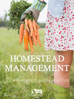 http://www.reformationacres.com/product/2016-homestead-management-printables
