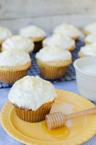 Milk & Honey Cupcakes