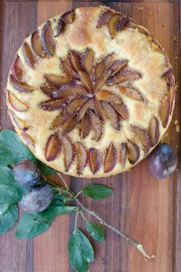 Yeasted Plum Cake