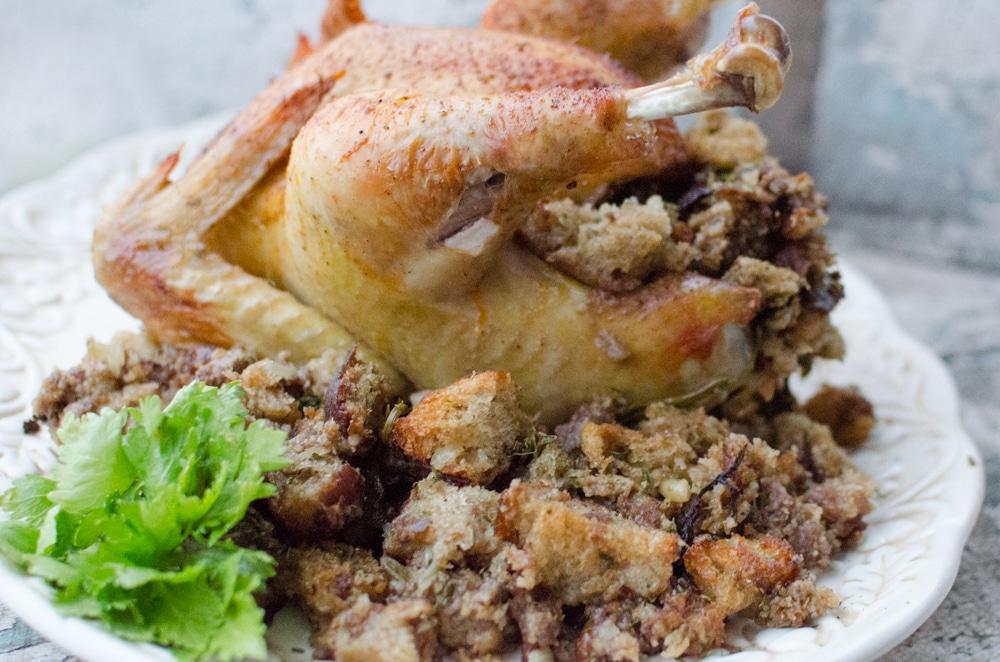 Sourdough Poultry Stuffing