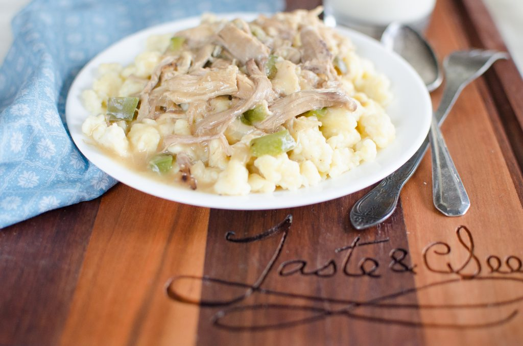 Chicken Haluska like Great-Grandma used to make... only better!!