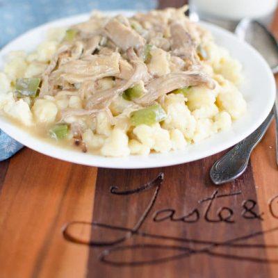Great-Grandma's Chicken Haluska Recipe (Only Better)