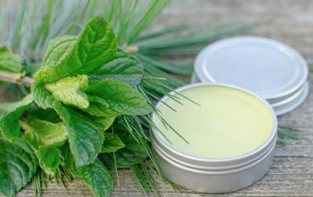 Peppermint Pine Headache Salve