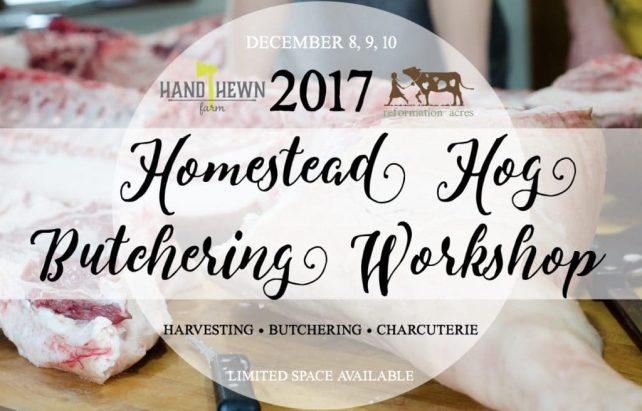 Homestead Hog Butchering Workshop