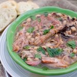 Ham Hock Soup with Black Eyed Peas
