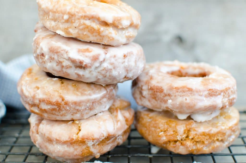 Old-Fashioned Sweet Potato Sour Cream Donuts