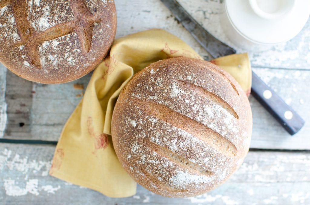 The Quintessential Sourdough Farm Loaf