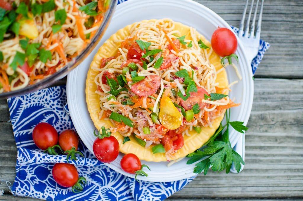 Fresh From the Garden Pasta Salad Recipe