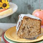 Whole Grain Harvest Apple Butter Cake