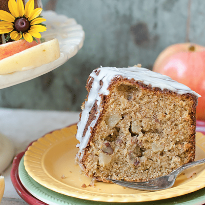 Whole Grain Harvest Apple Butter Cake