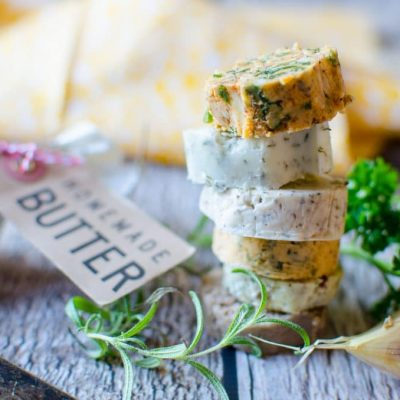 How to Preserve Your Fresh Herbs in Compound Butter (+ 8 Recipes)