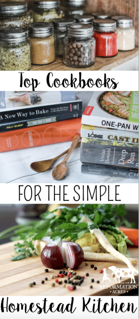Top Cookbooks for the Simple Homesteader's Kitchen