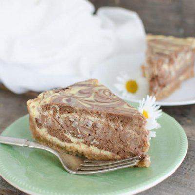 Creamy Chocolate Swirl Cheesecake Recipe
