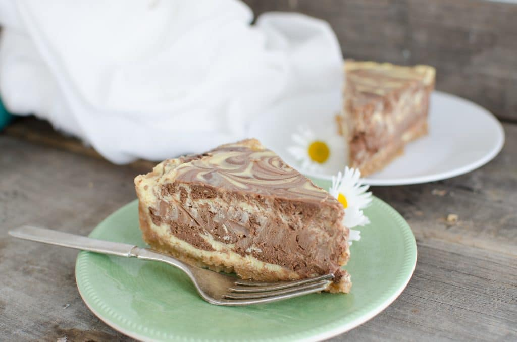 Creamy Chocolate Swirl Cheesecake Recipe