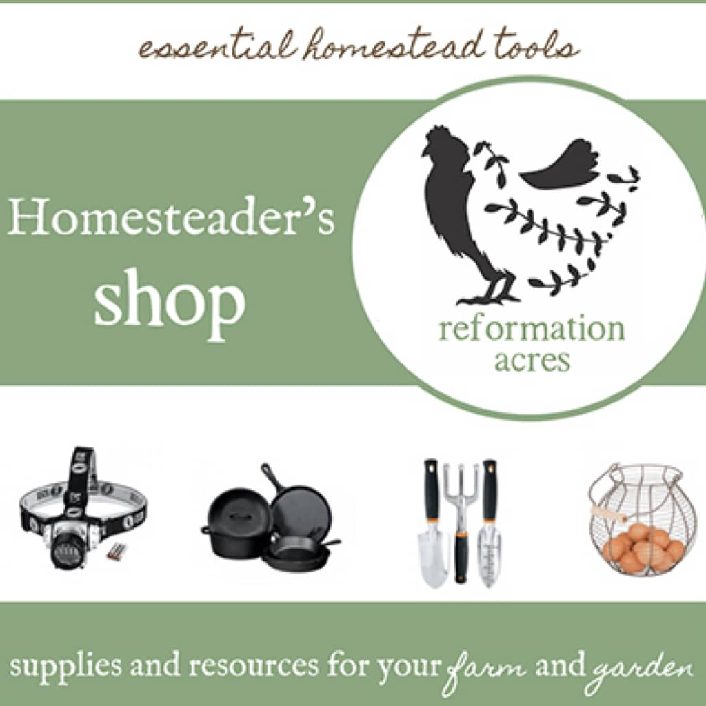 Homesteader's Shopping Guide