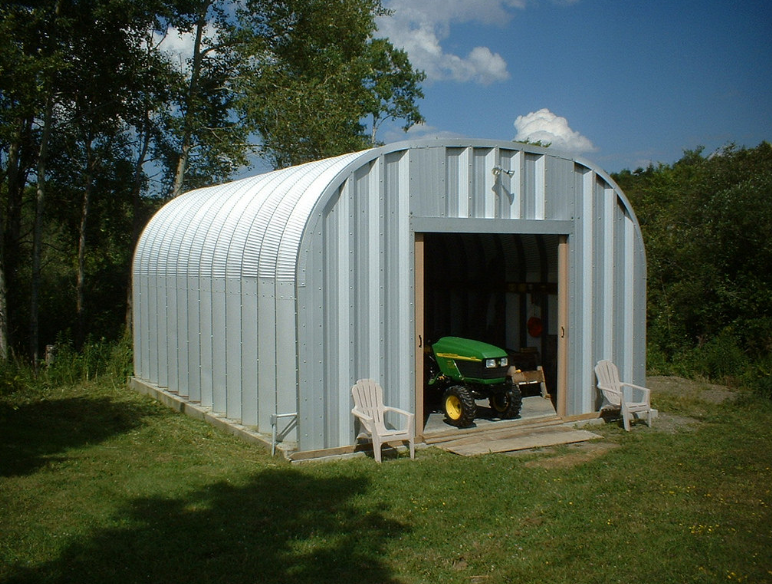 shed for tractors