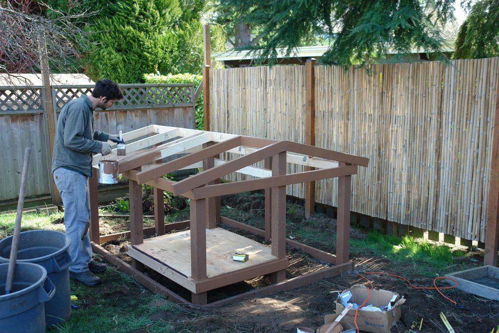 chicken coop constructions