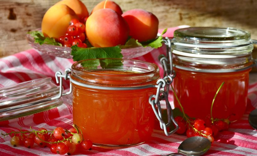 Jars full of easy canning recipes